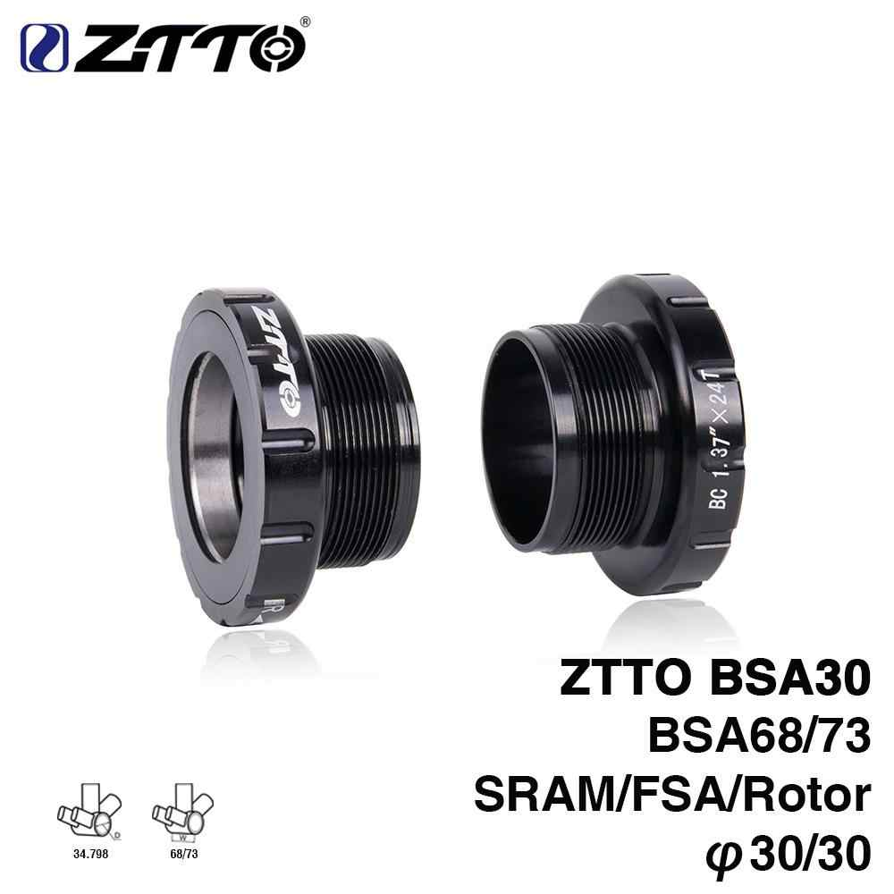 Bike BSA30 BB68 68//35MM to BB30//PF30//386 Chain Wheel Bottom Bracket for Cycling