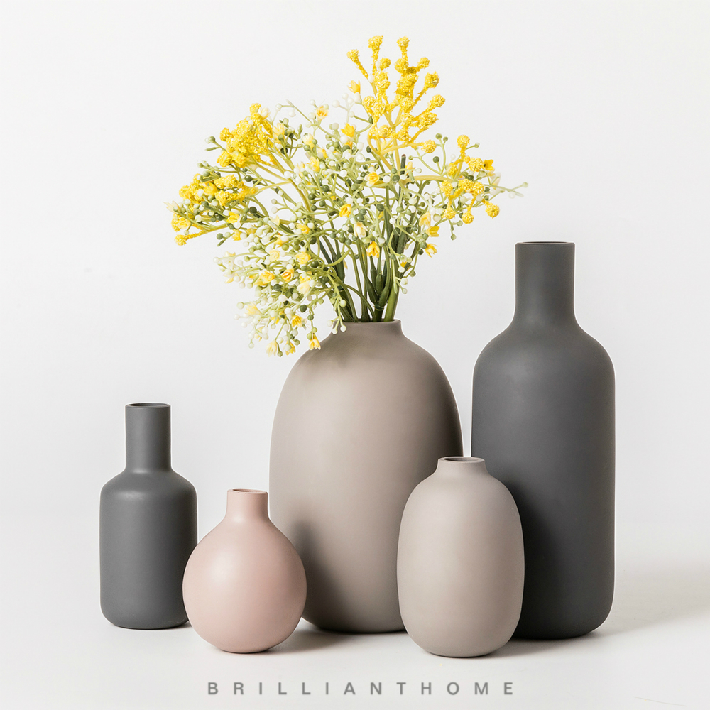 Nordic Ceramic Vase Decoration Flower Pot -