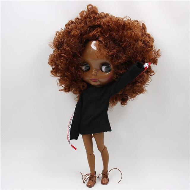 Trinity – Premium Custom Blythe Doll with Calm Face 1