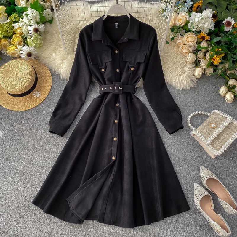 2019 new fashion women's clothing Dress autumn and winter dresses women dress 17