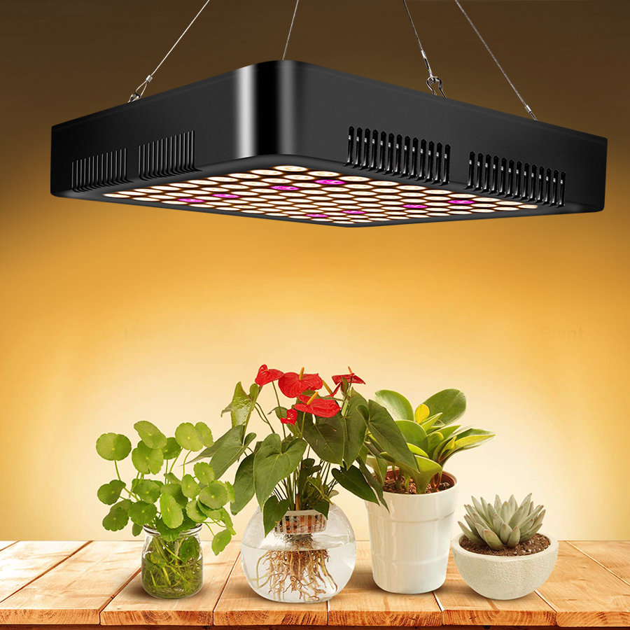 900W 85-265V Full Spectrum LED Plant Growth Lamp For Indoor Greenhouse Planting Indoor Plant Sowing Growth And Flower Lighting