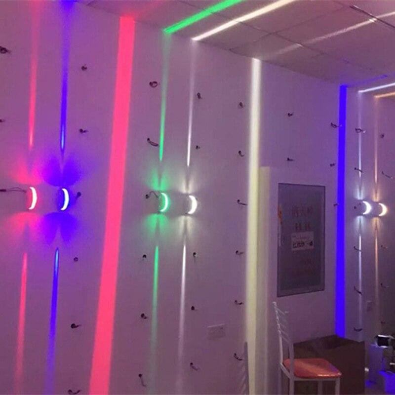 300 degrés déco luminaires LED lumière de fenêtre étroite 85-265V moderne plafonnier pour vitrine/couloir/couloir/Tunnel