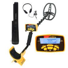 New Arrival LCD Digital Display Underground Metal Detector MD-6450 with backlight Professional Deep Gold Metal Detector Hunter