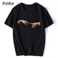 Camisa de manga curta do vintage do vintage da camisa de t de michelangelo-camisa estética masculina de 90s camiseta estéticas camisas grunge unissex harajuku novo