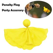 1pcs Football Penalty Flag Tossing Flags Sports Fan Set Penalty Flag Party Accessory