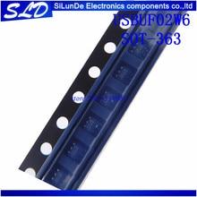 شحن مجاني 20 قطعة/الوحدة USBUF02W6 UU2 SOT 363 جديدة ومبتكرة في المخزون