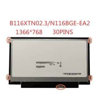 цена на Free Shippi 11.6-inch SLIM  LCD Screen Panel 30pins eDP  B116XTN02.3 NT116WHM-N23 N116BGE-EB2 N116BGE-EA2 M116NWR1 R7 1366*768