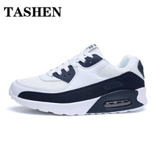 Fashion Air Cushion Sports & Casual Shoes Large Size Mens Lovers Trendy Running Patchwork Walking Jogging