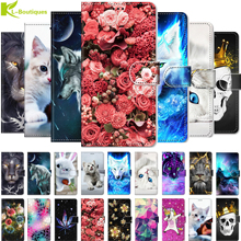 A3 Case Cartoon Animal Painted leather coque On for Funda Xiaomi Mi