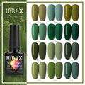 7 мл HNUIXTop пальто УФ матовый лак для ногтей Цветной Гель-лак для ногтей растворимая зеленого цвета для ногтей нюдовой коллекции Краски Полупо...
