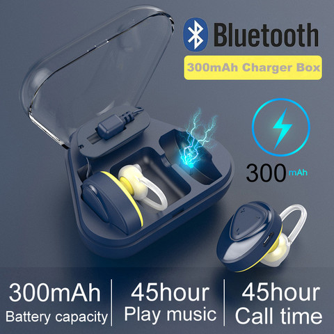 Lightweight Bluetooth Earphone Headset Sport Headsets 300mAh Portable Charging Box For Pc For Xiaomi Iphone Huawei Lahore