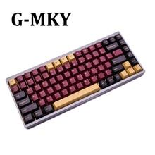 G MKY赤サムライ160キー桜プロファイルキーキャップダブルショットthick pbtキーキャップmxスイッチメカニカルキーボード