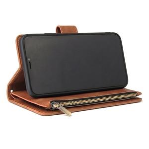 Image 2 - Pu 가죽 전화 케이스 애플 아이폰 11 11pro 11 프로 최대 완전히 동봉 된 보호 지갑 기능 패키지