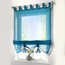 Room Divider Short Curtain Kitchen Sheer Window Panel Curtain Tulle Window Curtain Drape Panel Voile Curtain for Living Room window door curtain valance drape panel sheer tulle window screening tulle curtain for living room valance tulle sheer curtain