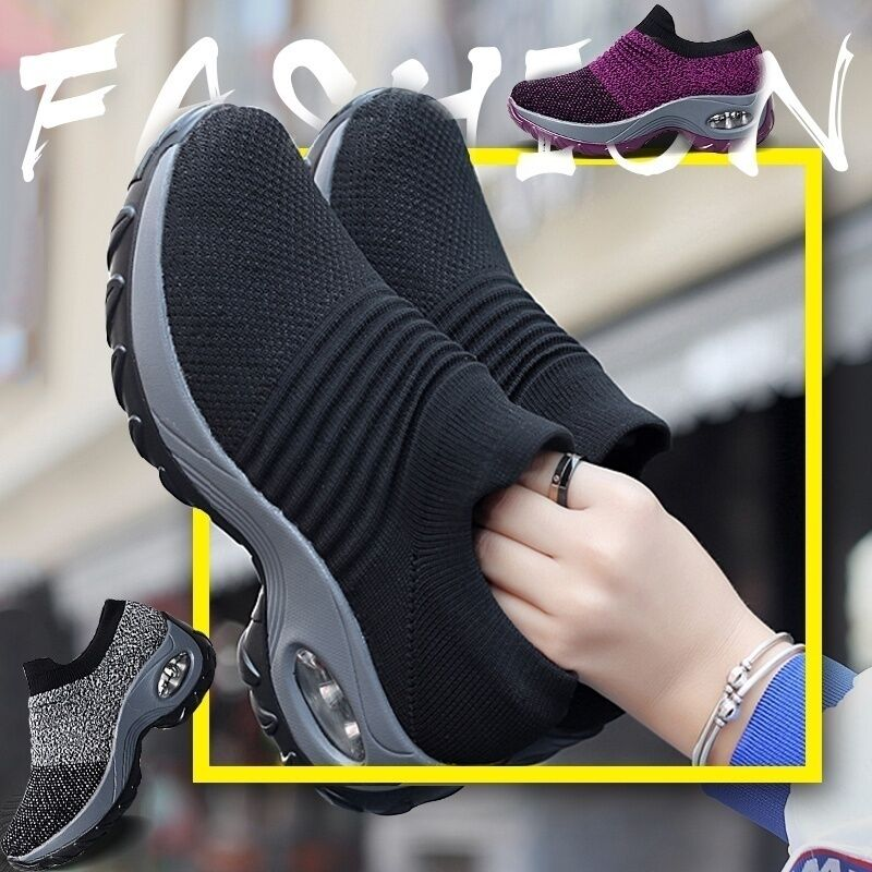Casual Shoes Tenis Light-Weight Walking-Sneakers Outdoor Breathable Women Feminino