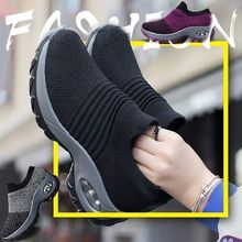 Casual Shoes Tenis Walking-Sneakers Outdoor Breathable Women Feminino Light-Weight