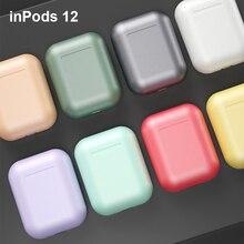 Дропшиппинг inPods 12 TWS Bluetooth 5,0 наушники i12 TWS Macaron 3D беспроводные наушники сенсорное управление Модель AAA Качество