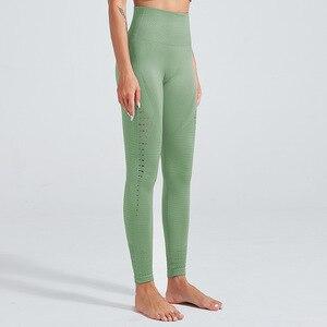 Image 5 - Kaminsky אופנה חלול חותלות לנשים גבירותיי גבוהה מותן אלסטי חותלות זיעה מכנסיים סקסי ירכי נשים כושר חותלות