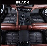 SJ 3D wodoodporne niestandardowe dywaniki samochodowe przód i tył FloorLiner stylizacja dywanik samochodowy mata pasuje do SKODA Rapid 2013 2014 2015 2019 w Dywaniki od Samochody i motocykle na