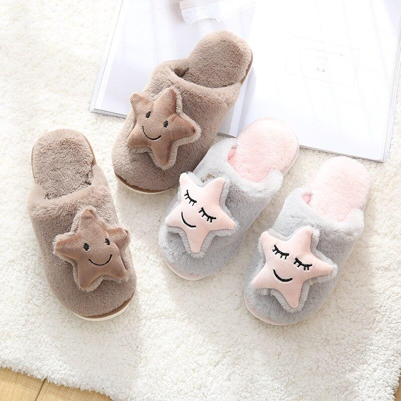H31ae28f092d043449d21eb348dec34be3 Shofort chinelos de algodão macio feminino, sapatos caseiros para casal quentes de inverno de casa antiderrapante sapatos com calçados