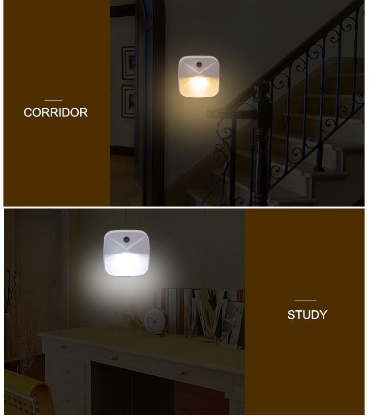 bedroom decor Night lights decorative lamp Light Sensor Control EU US Plug Nightlight Children Kids Living Room Bedroom Lighting