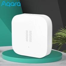 Aqara sensor de vibração sono valores alarme monitor detecção movimento choque zigbee apoio xiaomi mijia casa inteligente original