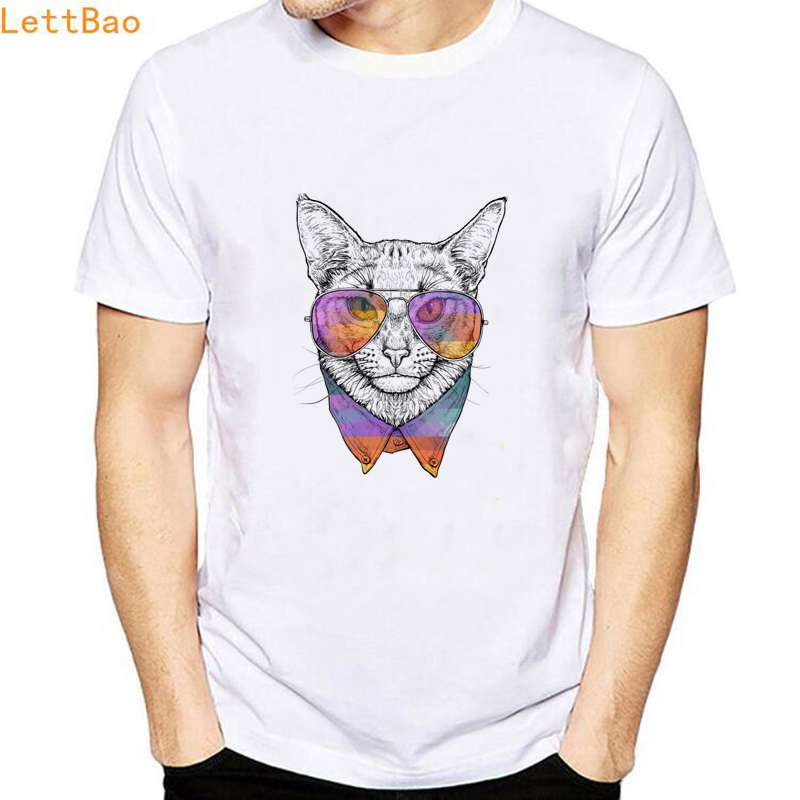 Short Sleeve Shirts Abyssinian Cat Vintage Tee Shirt
