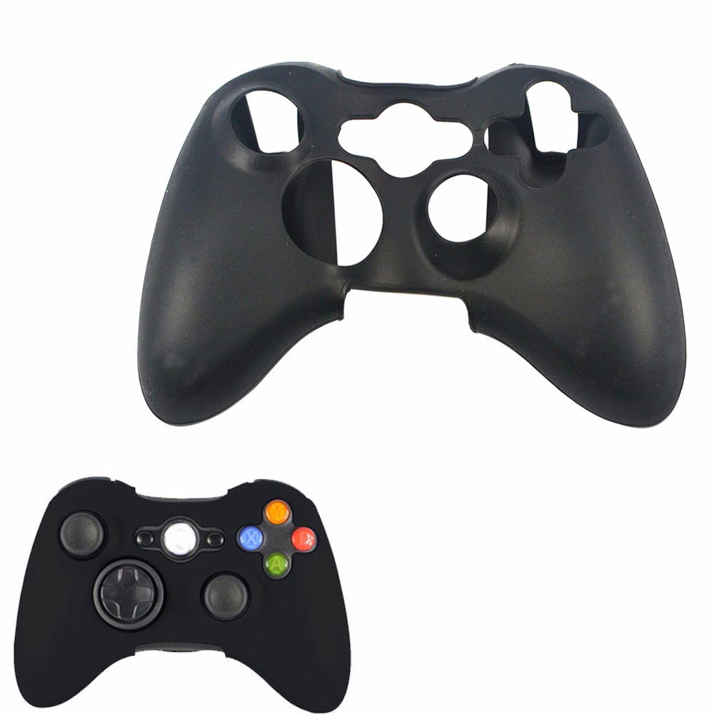 Silicone Cover Case Protection Sleeve for Xbox 360 Game Controller Silicone Light Durable image