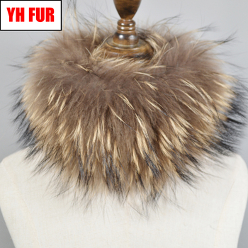 Hot Sale Brand Women Real Fox Fur Scarf Girls Warm Soft Knitted Good Elastic Real Fox Fur Headband Natural Fox Fur Ring Scarves