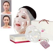 New USB Charging vibration Facial massage Quick face lift mask V Face Chin Cheek Lift Up Slimming Slim Massager 110V 240V