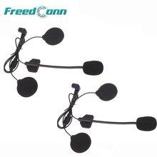 2 pçs T-COMSC interphone acessórios duro fone de ouvido terno para T-COMVB T-MAX FDC-01VB colo TCOM-02 capacete da motocicleta intercom