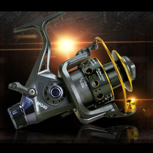Spinning Fishing reel double unloading metal head front and rear brake reel fishing sea fishing  Boat Rock Fishing Wheel