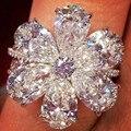 Модное Элегантное женское кольцо FDLK, ювелирные аксессуары, роскошное циркониевое обручальное кольцо, вечерние