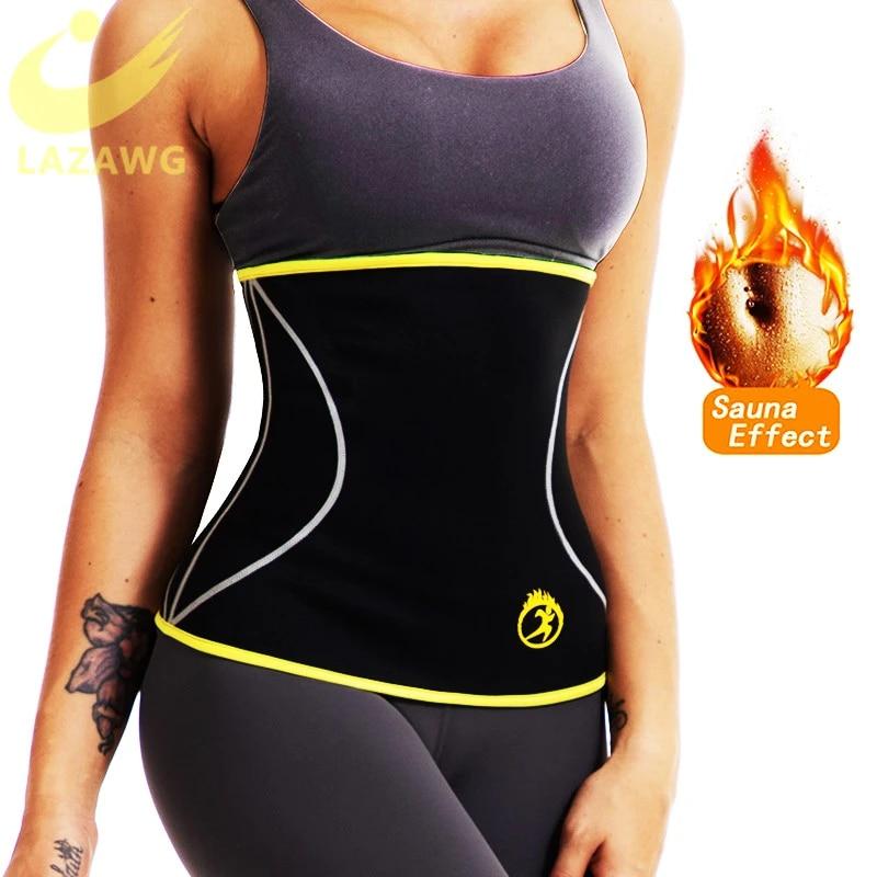 Women Waist Trainer Neoprene Belt Sauna Sweat Body Shaper Tummy Control Cincher