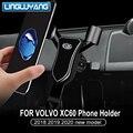 2018-2019 для volvo xc60 Специальный держатель для мобильного телефона Автомобильный держатель для телефона автомобильные аксессуары