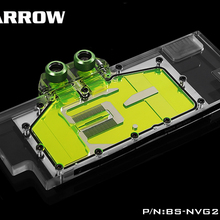 Barrow BS-NVG2080T-PA, LRC RGB v2 Full Cover Graphics Card Water Cooling Blocks, for Founder edition Nvidia RTX2080Ti / 2080