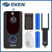 EKEN Doorbell V7 1080P Video Intercom Door Bell Smart House Wifi Household Products Call Wireless Home Apartment Camera