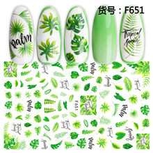 1Pcs Aardbei Zomer Fruit Drinken Stickers Voor Nagels Manicure Nail Art Design Water Transfer Watermerk Beauty Decals(China)