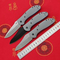 LOVOCOO Promotion 550/551 D2 Steel G10 handle folding knife outdoor camping pocket Survival Hunting Kitchen Knives EDC Tools