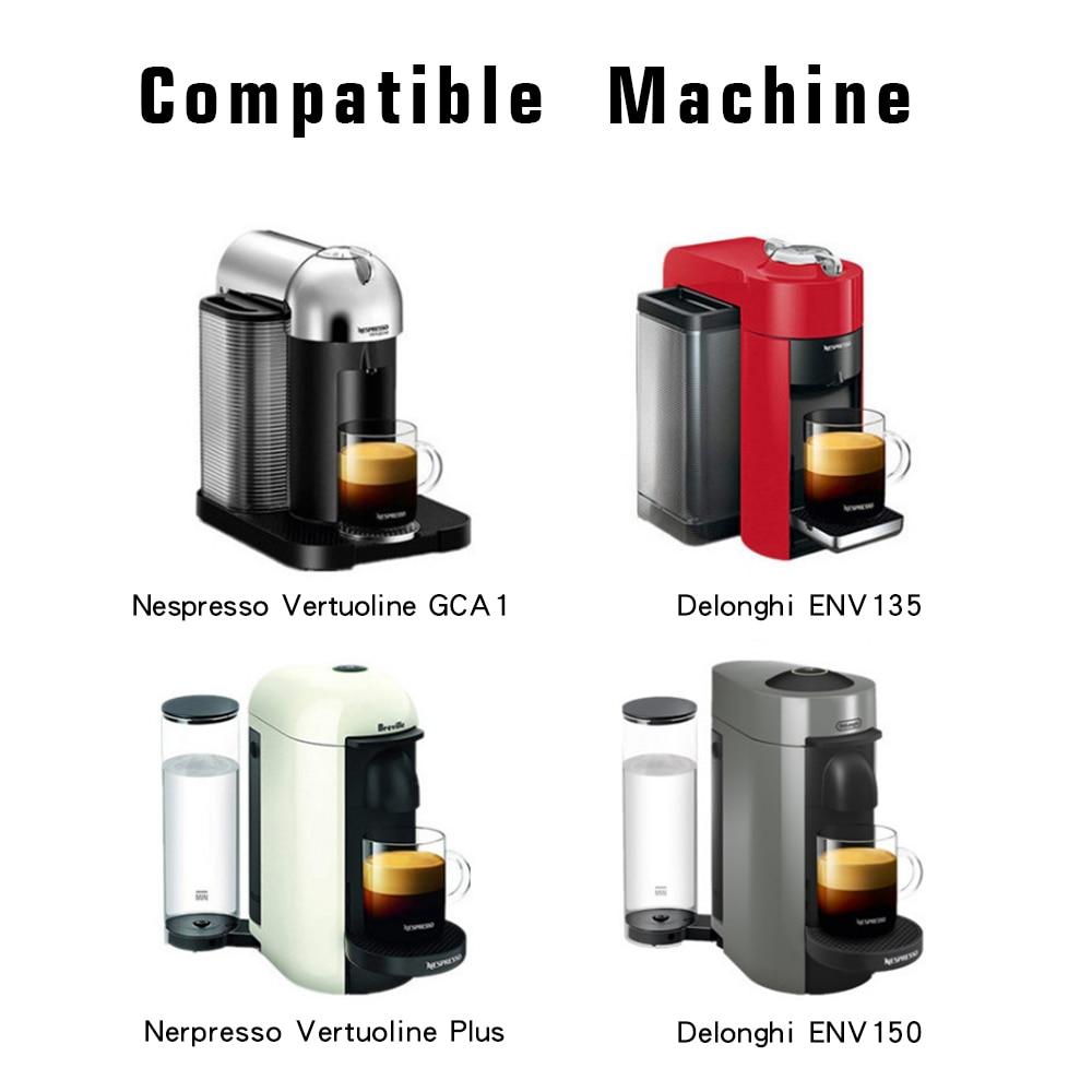C/ápsula de caf/é reutilizable de acero inoxidable para cafetera Nespresso U Verdelife