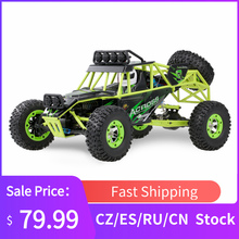 WLtoys 12428 RC Car 4WD 1/12 2.4G 50KM/H High Speed Monster Vehicle Remote Control Car RC Buggy Off-Road Car