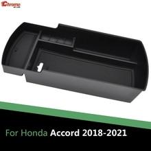 Boîte de rangement pour accoudoir, organisateur de Console centrale de voiture, plateau accoudoir boîte de rangement conteneur pour Honda Accord 10th Gen Inspire 2018 2019 2020 2021