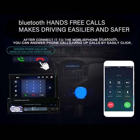 carro universal autoradio video mp5 player estereo