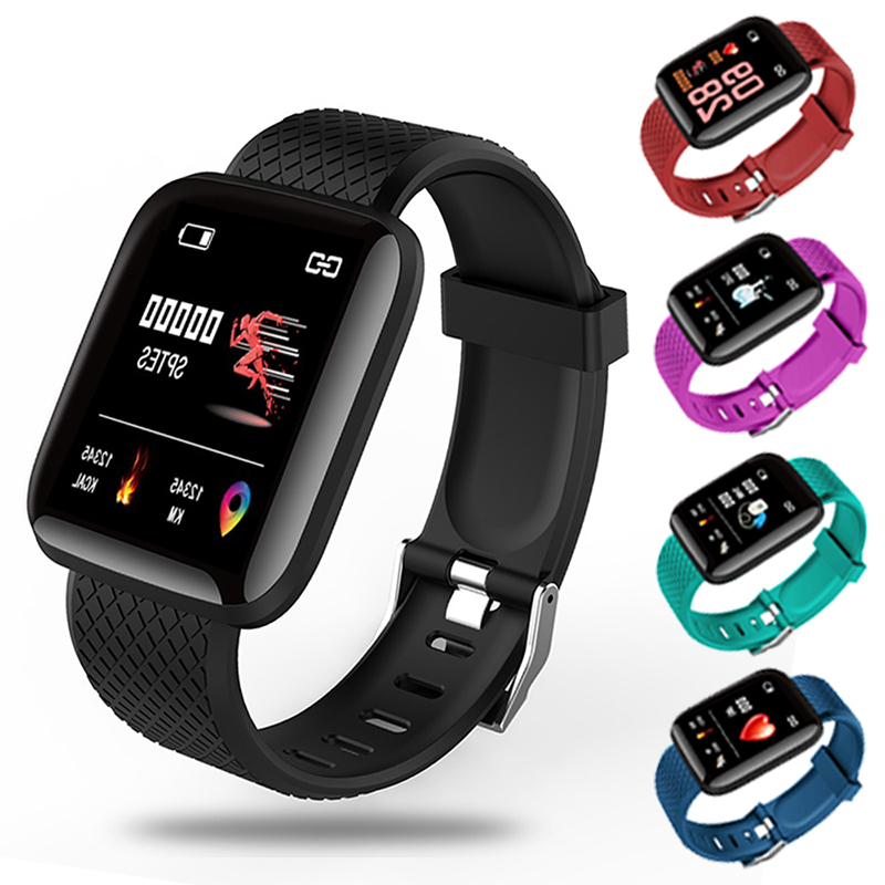 2020 Smart Watch Women Men Smartwatch For Apple IOS Android Electronics Smart Fitness Tracker With Silicone Strap Sport Watches 6