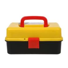 3 Слои складной ящик для хранения инструментов Портативный Оборудование Набор инструментов многофункциональные инструменты для ремонта автомобилей Контейнер Чехол
