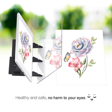 Painting-Tool Tracing-Board Animation Optical-Drawing Sketching Portable Mirror Copy-Pad