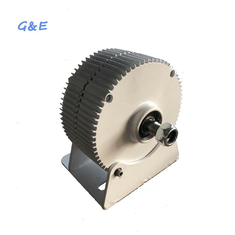400W Alternator 12V 24V PMG 48V Three Phase Permanent Magnet Generator DC Controller