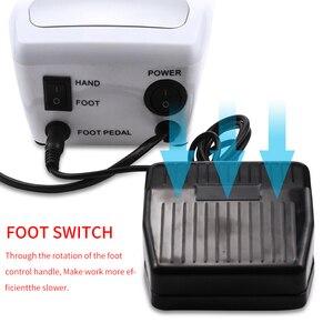 Image 3 - Taladro eléctrico para uñas, herramientas para manicura y pedicura, taladro de decoración de uñas acrílico, 32W, 35000RPM