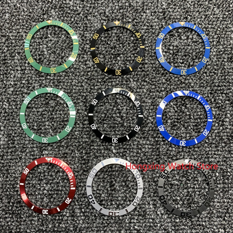 38mm Watch Ring Ceramic Bezel Insert Ring For Watch 40mm Casing Watch Accessories Inner Diameter 30.8mm