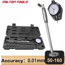 Gauges Measuring-Tools Micrometer Dial-Indicator Dial-Bore-Gauge Center-Ring 50-160mm/0.01mm